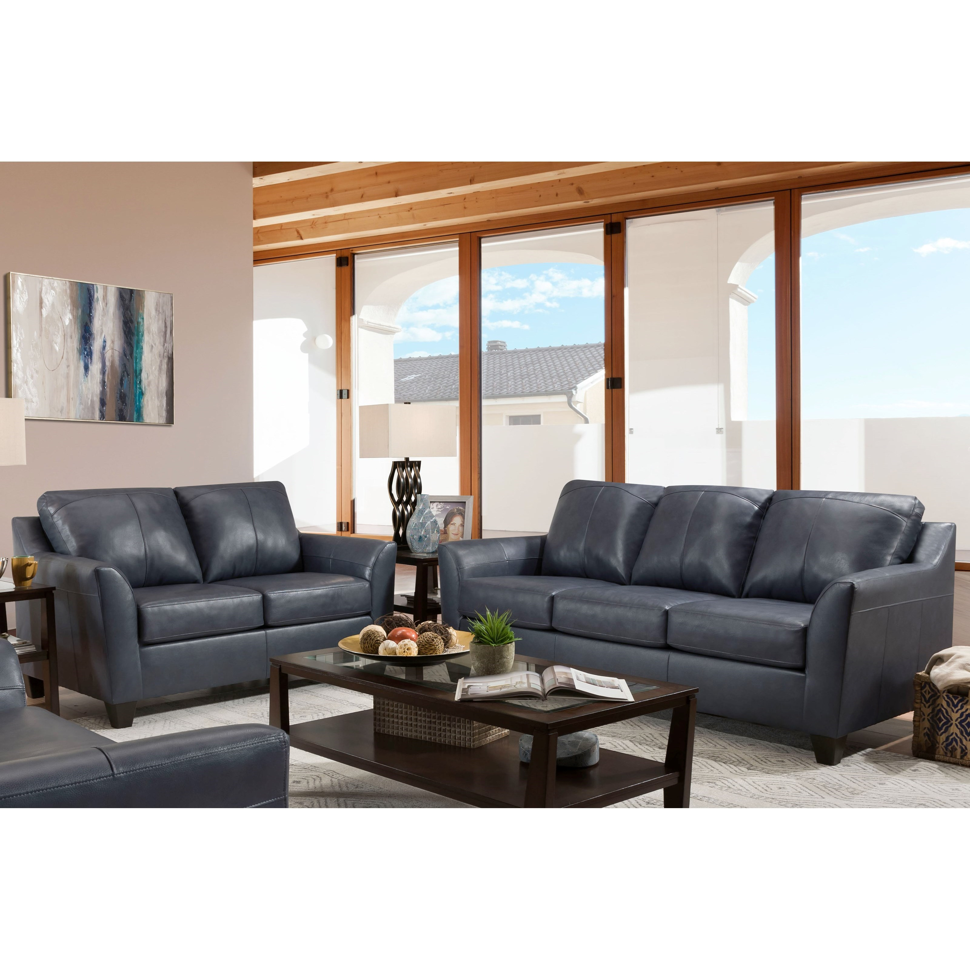 2029 Stationary Living Room Group by Lane at Esprit Decor Home Furnishings