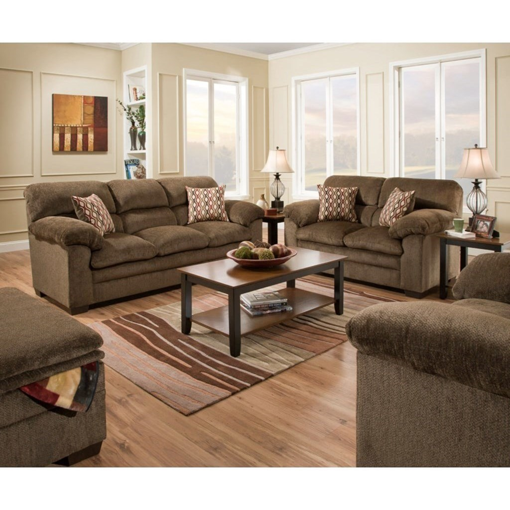 3683 Living Room Group by United Furniture Industries at Bullard Furniture