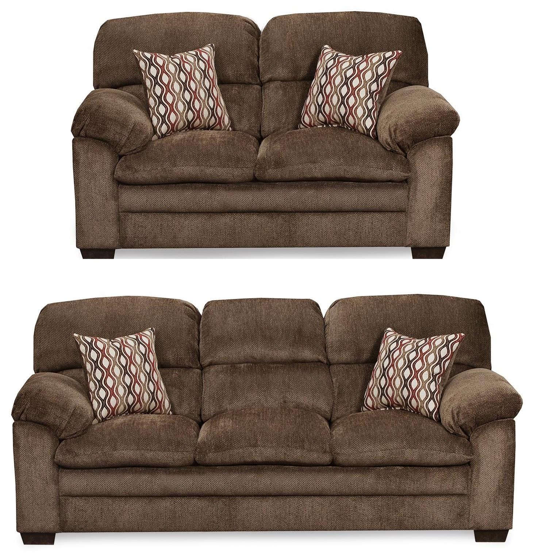 Harlow 2PC Sofa & Loveseat Set at Rotmans