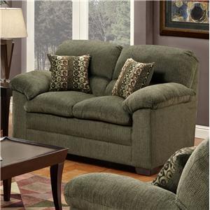 United Furniture Industries 3684 Stationary Loveseat