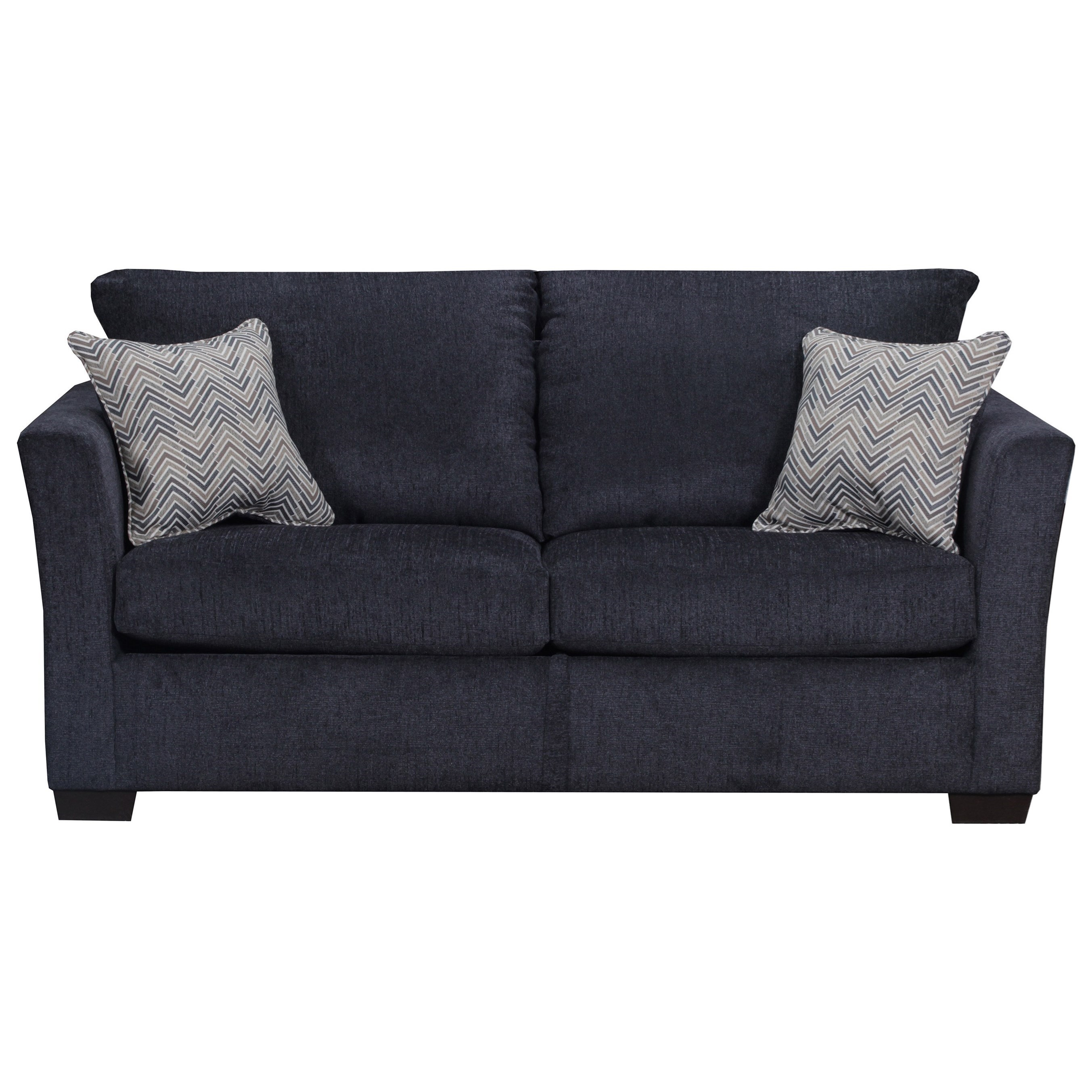 4206 Transitional Two Cushion Sofa by Lane at Powell's Furniture and Mattress