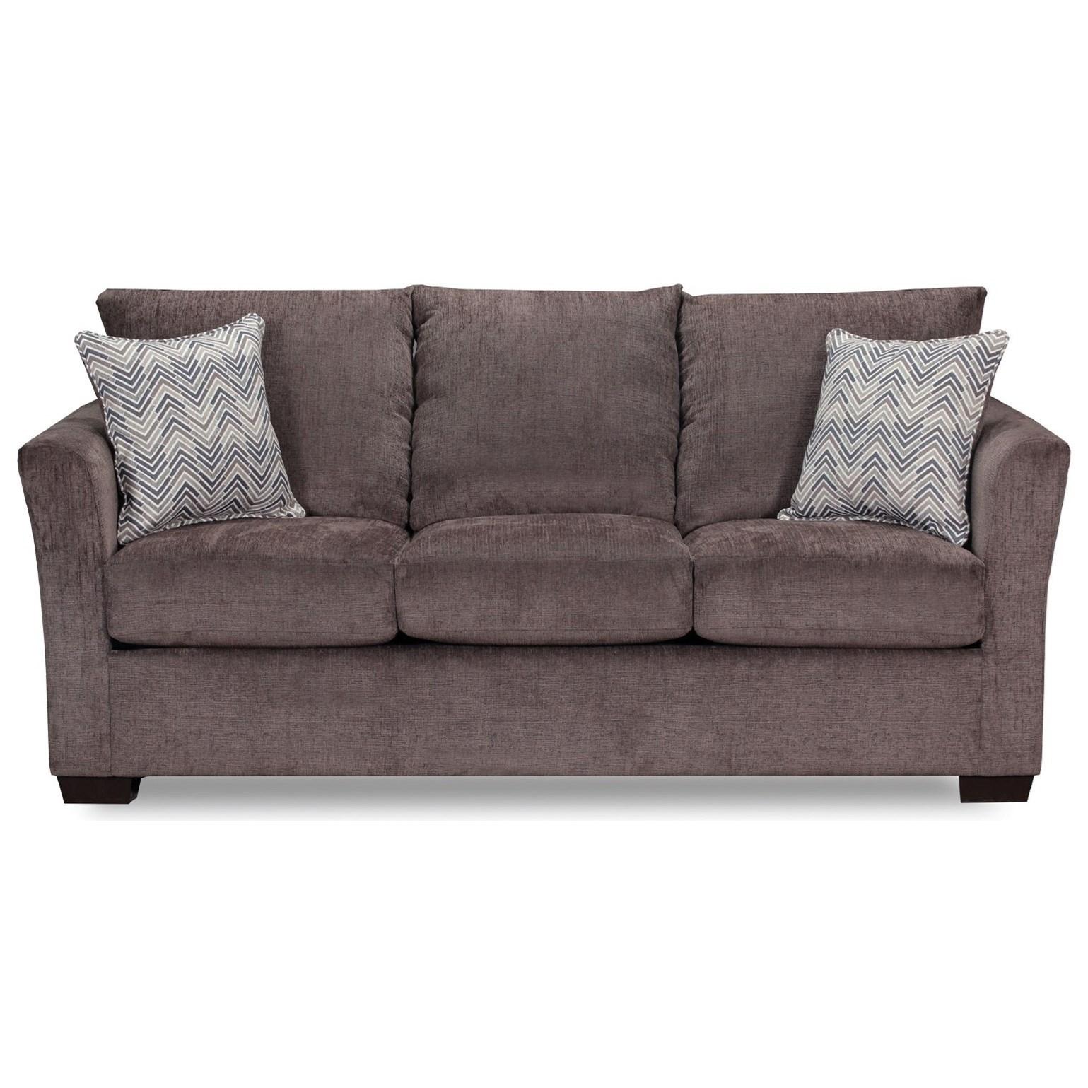 4206 Transitional Queen Sleeper Sofa by United Furniture Industries at Bullard Furniture