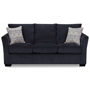Transitional Queen Sleeper Sofa