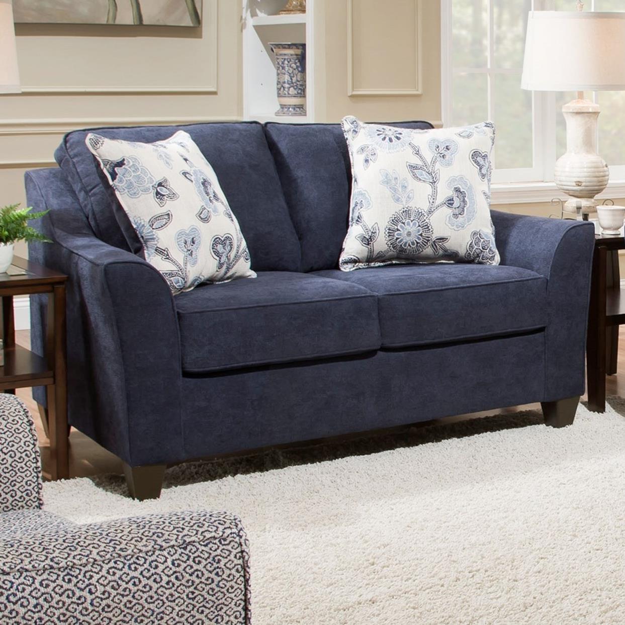 4330 Love Seat by United Furniture Industries at Pilgrim Furniture City