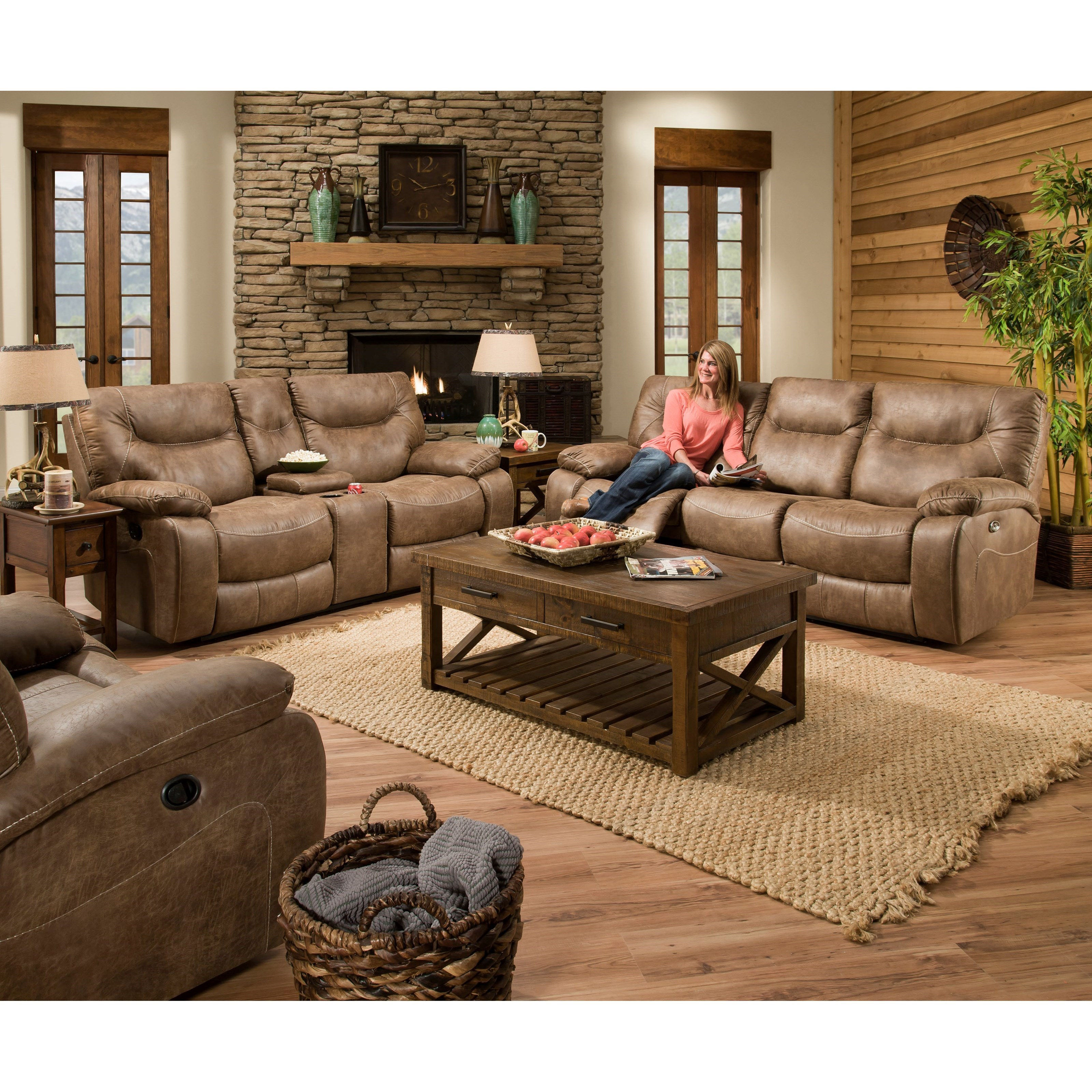 50250 BR Casual Living Room Group by United Furniture Industries at Bullard Furniture