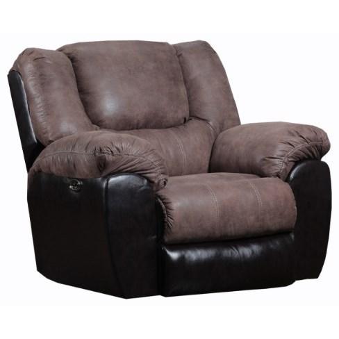 50431 Casual Rocker Recliner by United Furniture Industries at Bullard Furniture