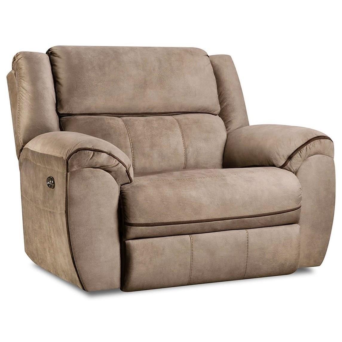 50436BR Cuddler Recliner by United Furniture Industries at Bullard Furniture