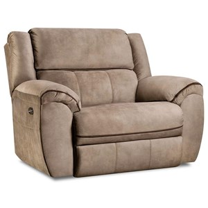Casual Power Cuddler Recliner with USB Port