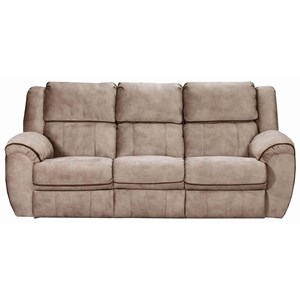 Casual Power Reclining Sofa with USB Ports