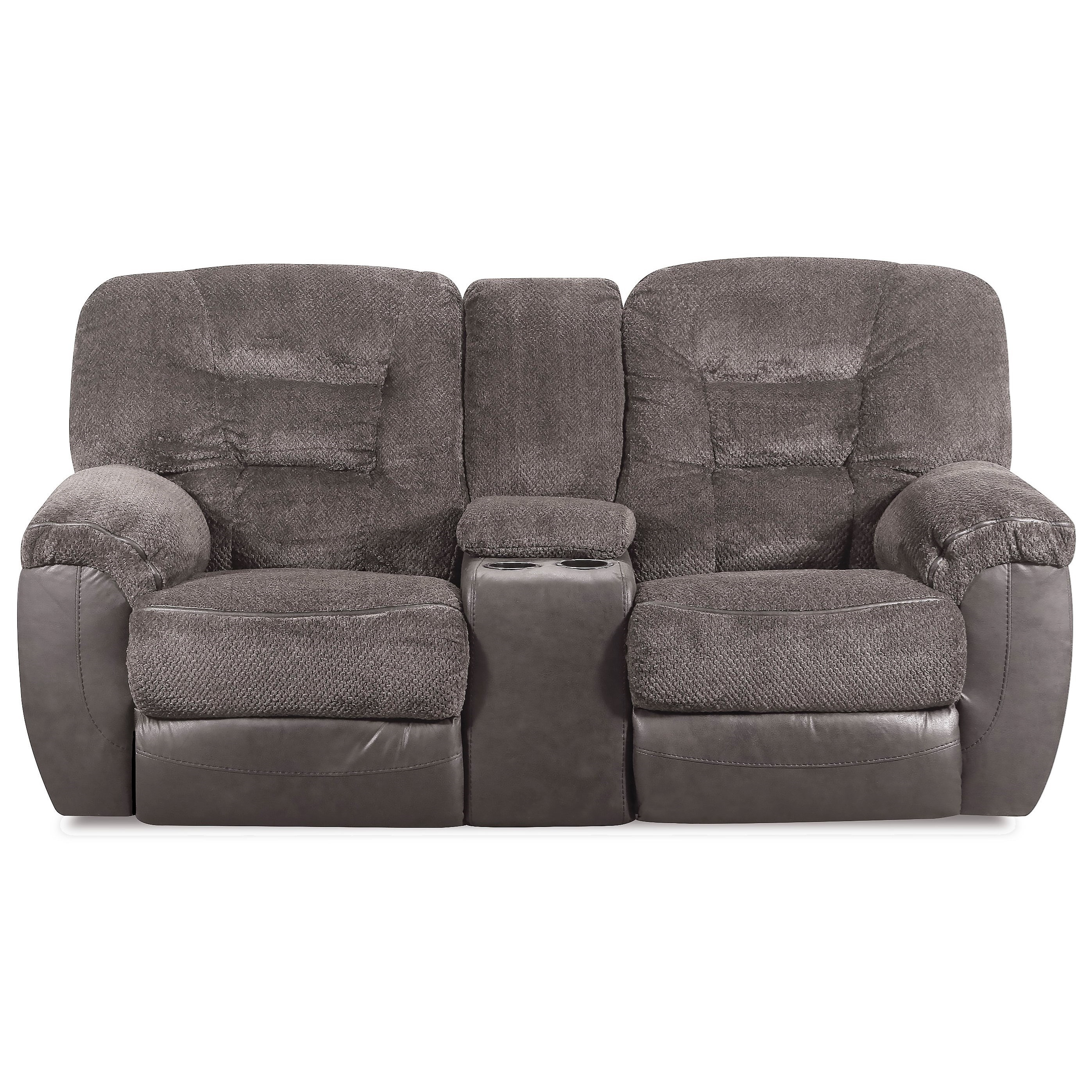 50439BR Reclining Console Loveseat by United Furniture Industries at Bullard Furniture