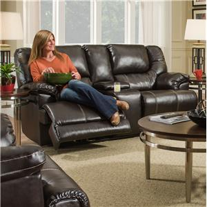 Casual Motion Console Loveseat
