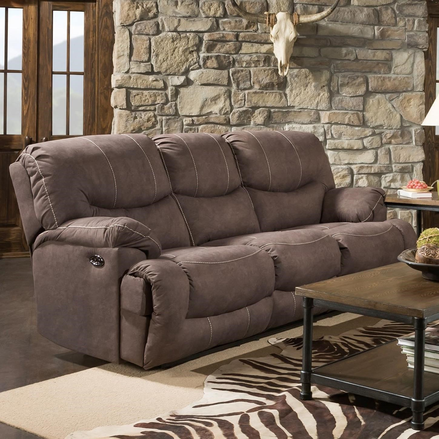 50455BR Double Reclining Sofa by United Furniture Industries at Dream Home Interiors