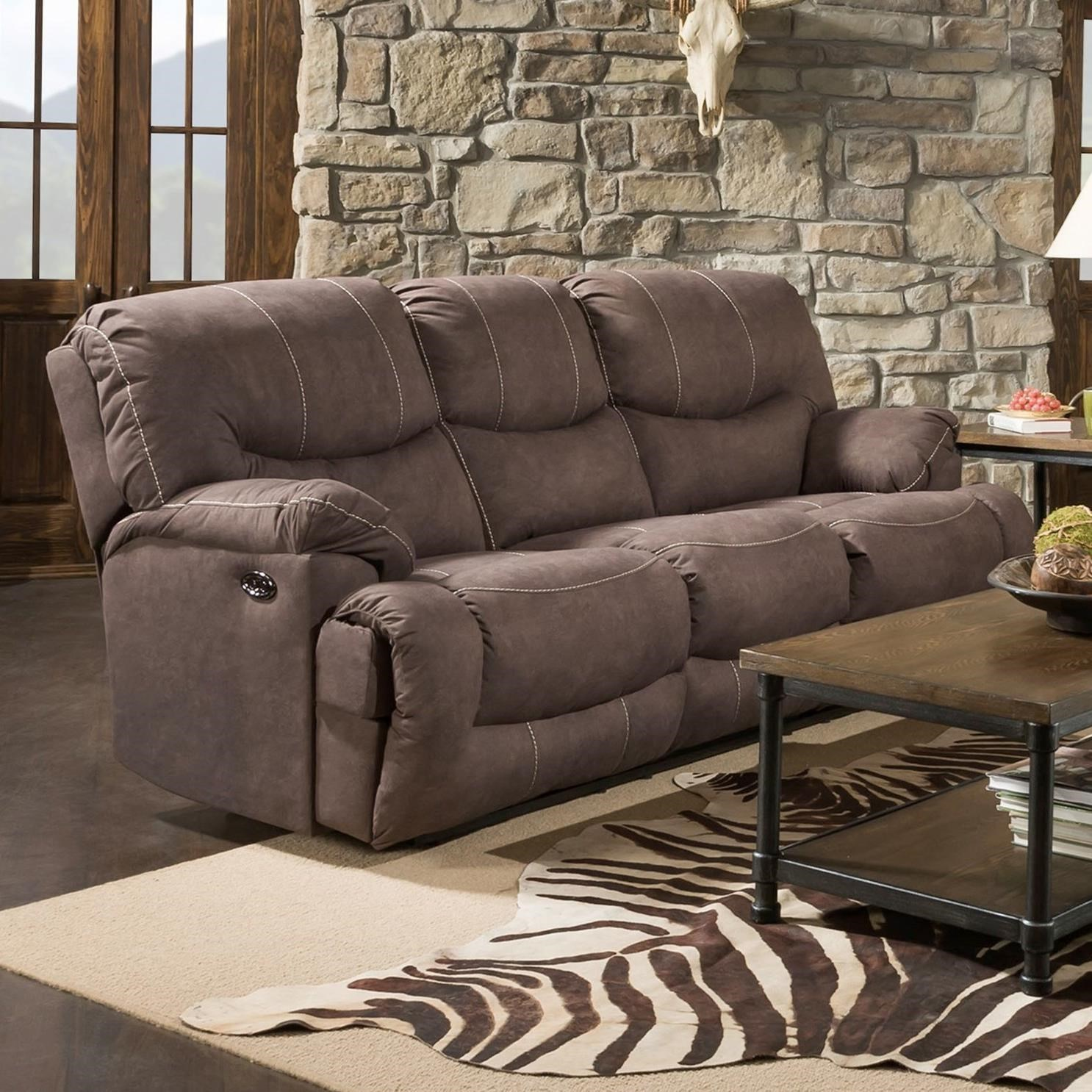 50455BR Double Power Reclining Sofa by United Furniture Industries at Bullard Furniture