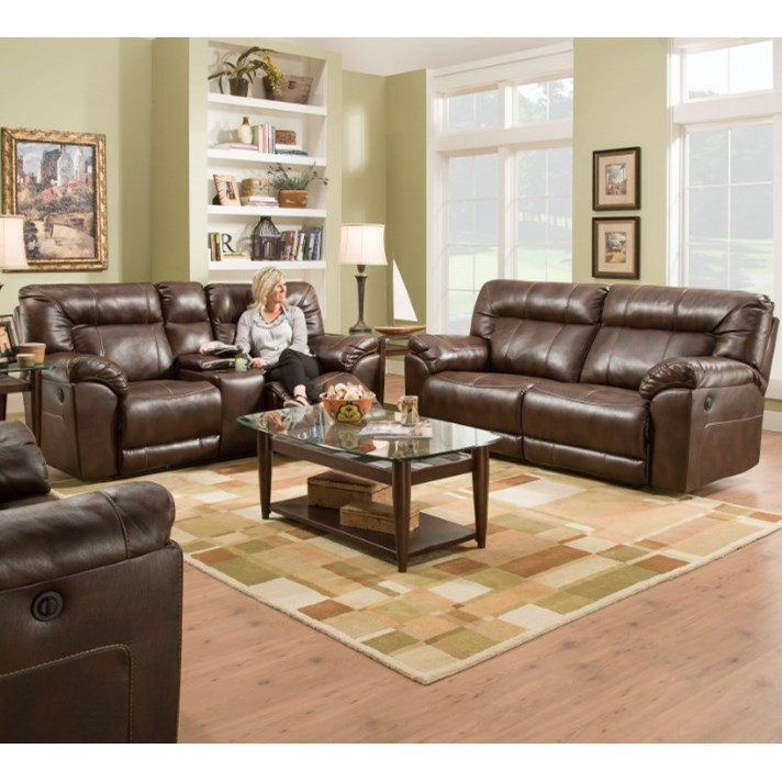 50571BR Power Reclining Living Room Group by United Furniture Industries at Dream Home Interiors