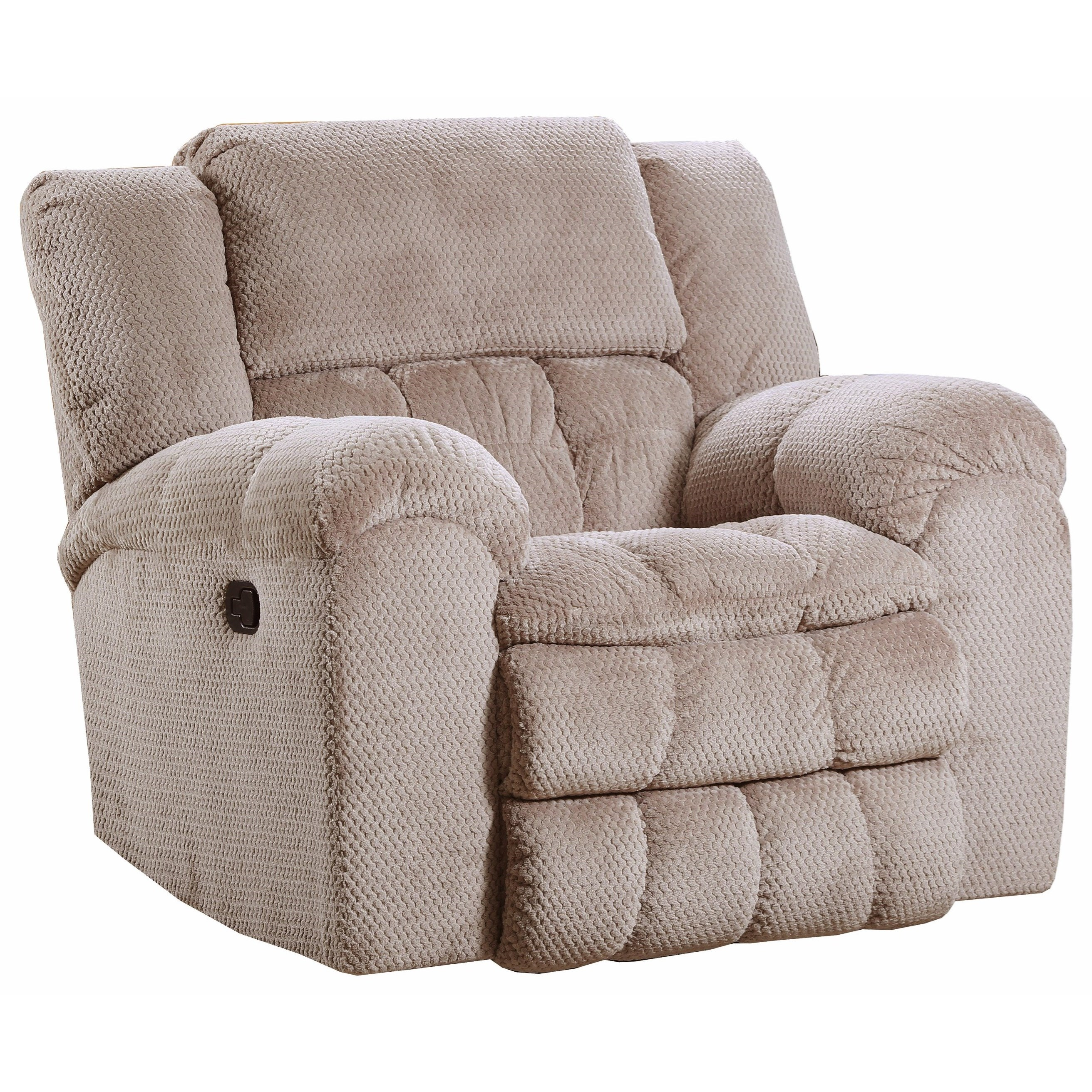 50580BR Rocker Recliner by Simmons Upholstery at O'Dunk & O'Bright Furniture