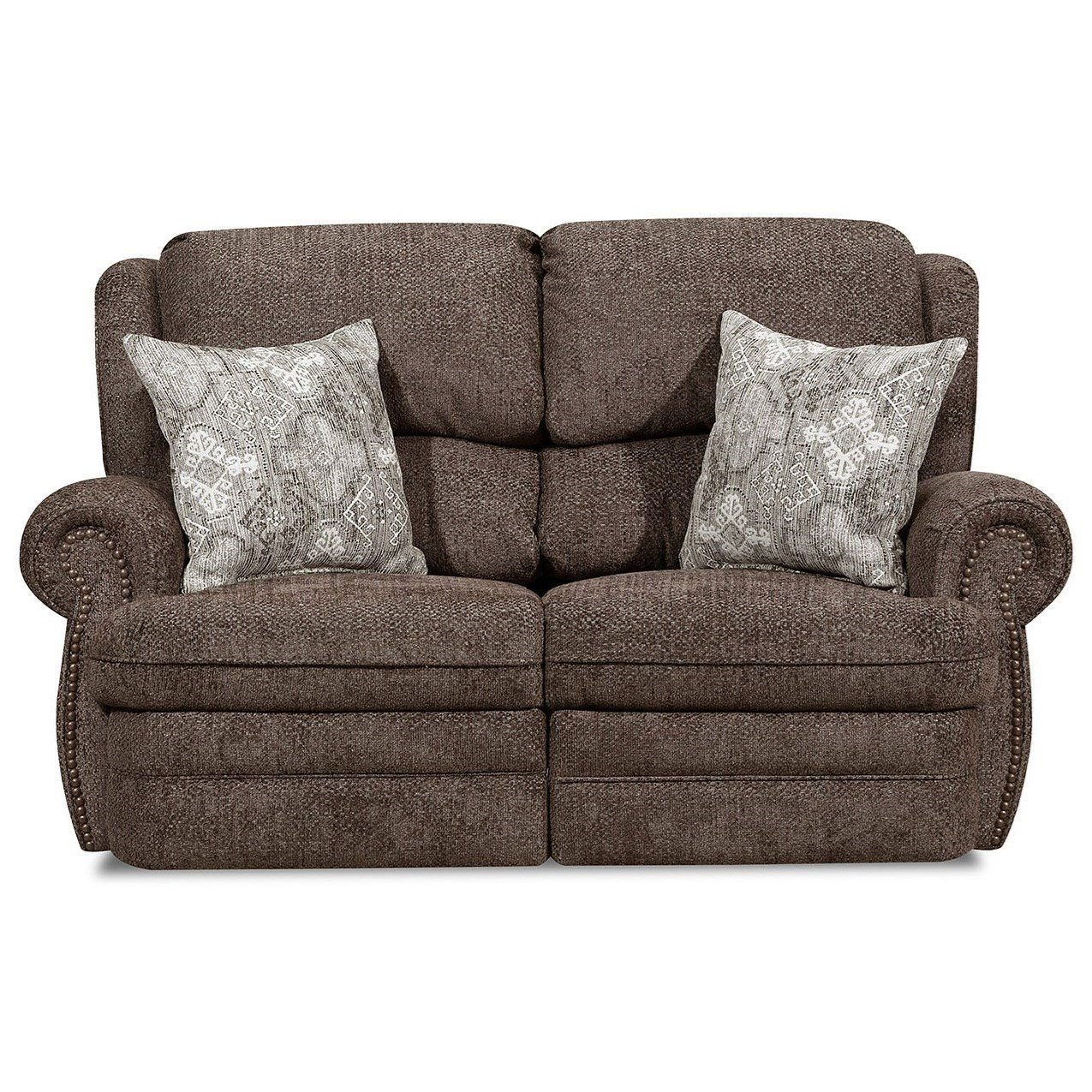 57000 Reclining Loveseat by United Furniture Industries at Bullard Furniture