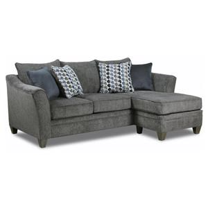 Transitional Sofa Chaise