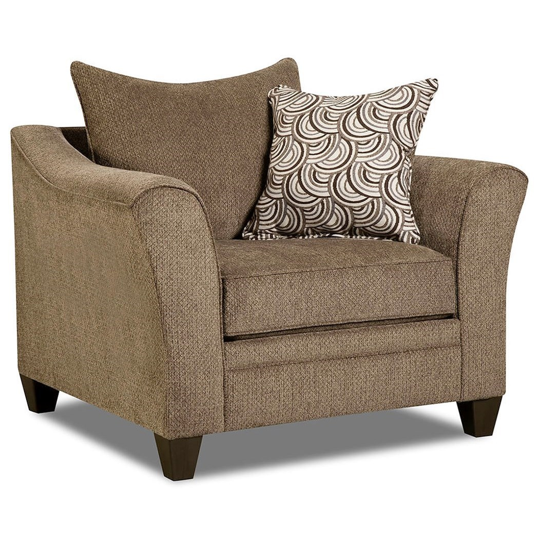 6485 Transitional Chair by United Furniture Industries at Bullard Furniture