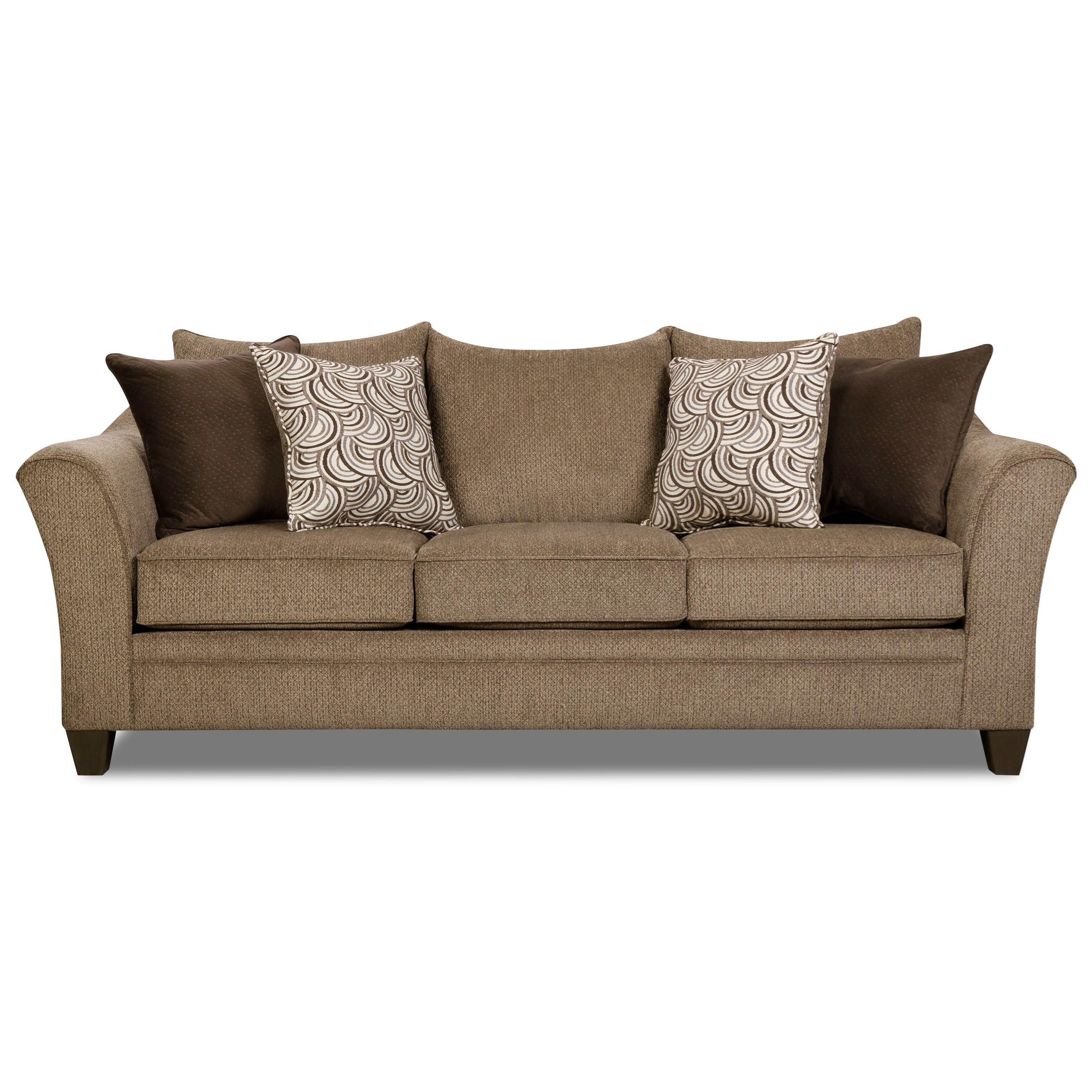 Kiara Transitional Sofa by Umber at EFO Furniture Outlet