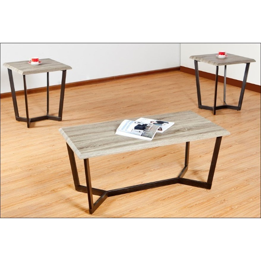 7306 Occasional Table Set by United Furniture Industries at Bullard Furniture