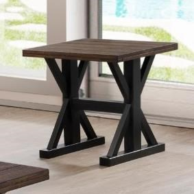 7525 Transitional End Table by United Furniture Industries at Dream Home Interiors