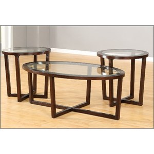 Transitional Occasional Table Set