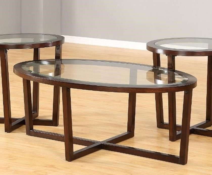 7526 Oval Cocktail Table by United Furniture Industries at Dream Home Interiors