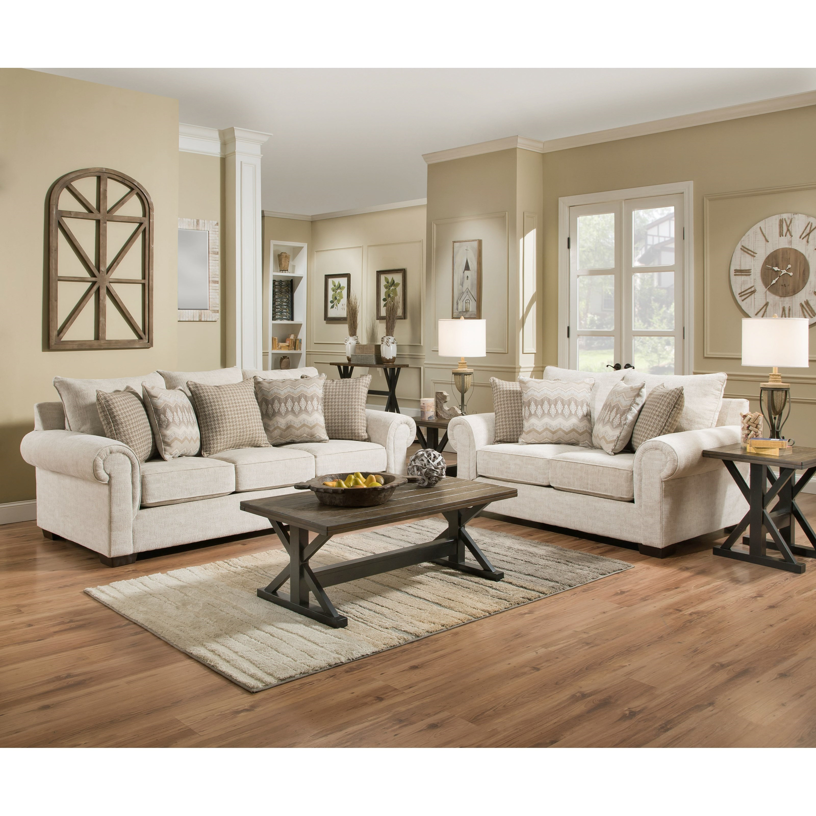 7592BR Living Room Group by United Furniture Industries at Pilgrim Furniture City
