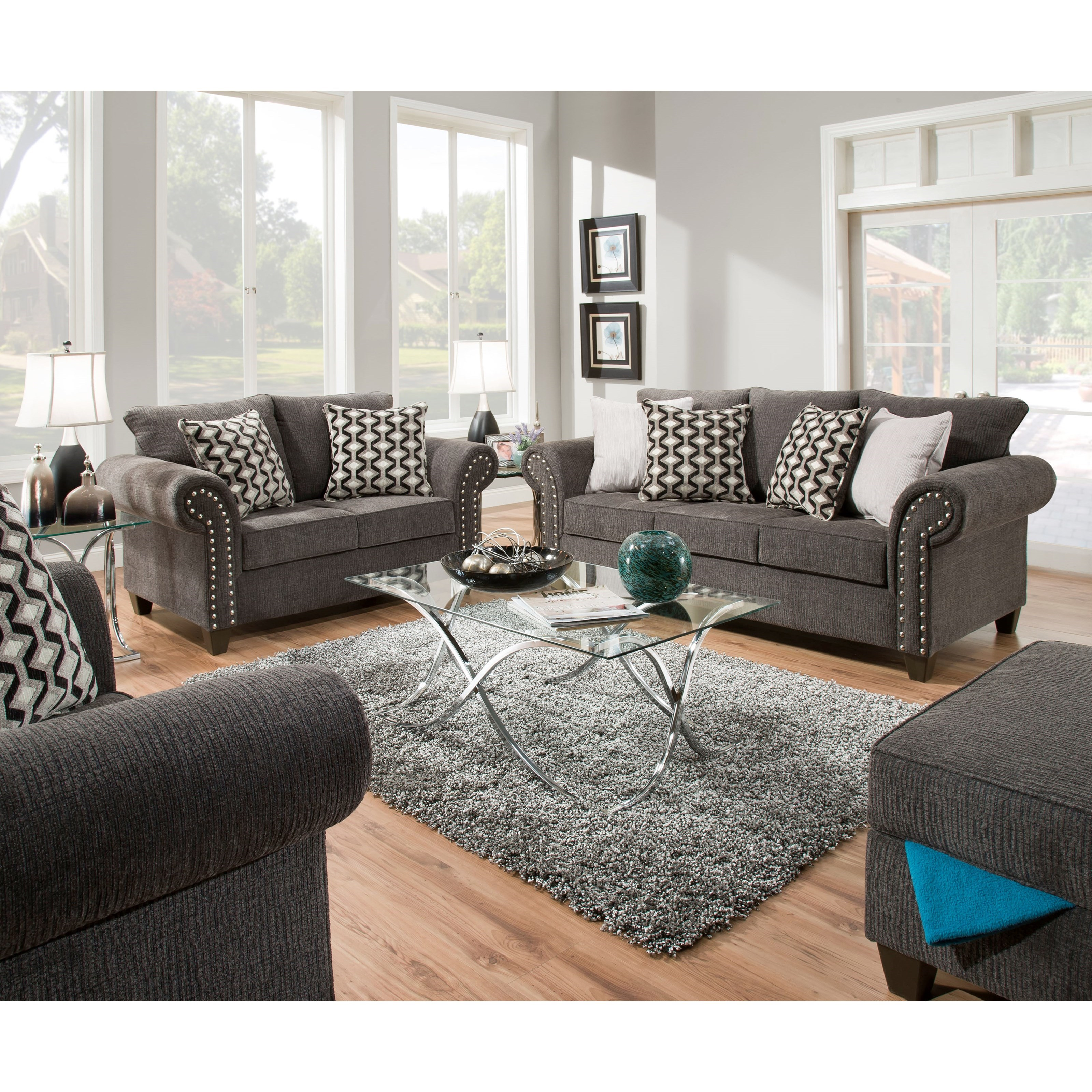 8036 Living Room Group by United Furniture Industries at Dream Home Interiors