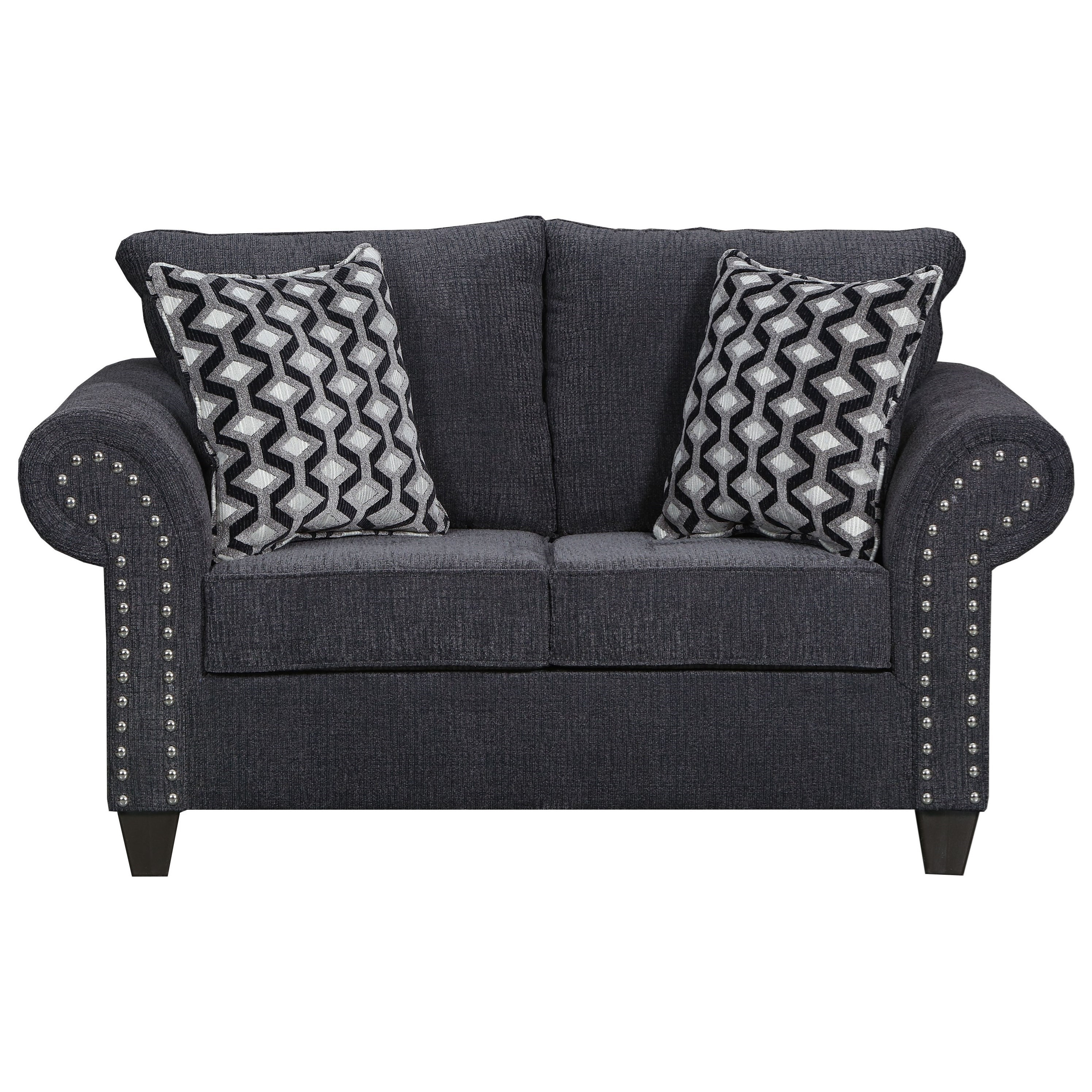 8036 Love Seat by United Furniture Industries at Dream Home Interiors