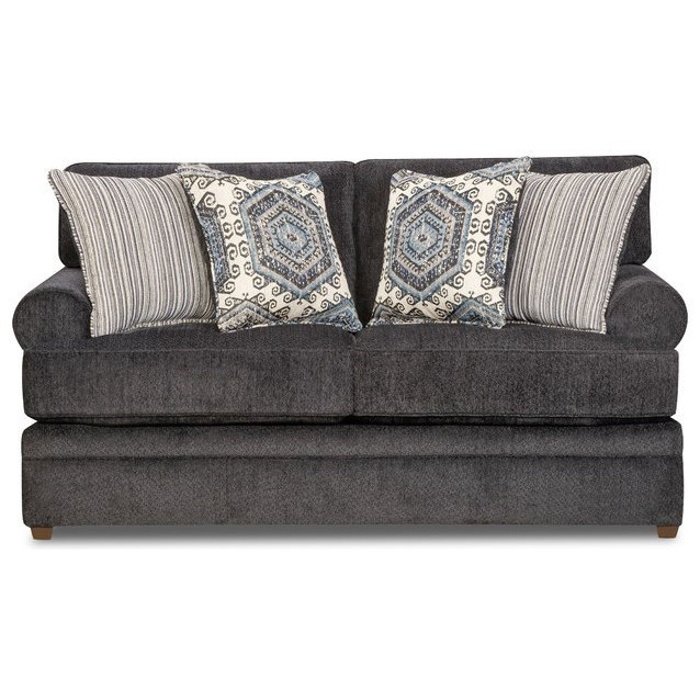 8530 BR Transitional Loveseat by United Furniture Industries at Pilgrim Furniture City