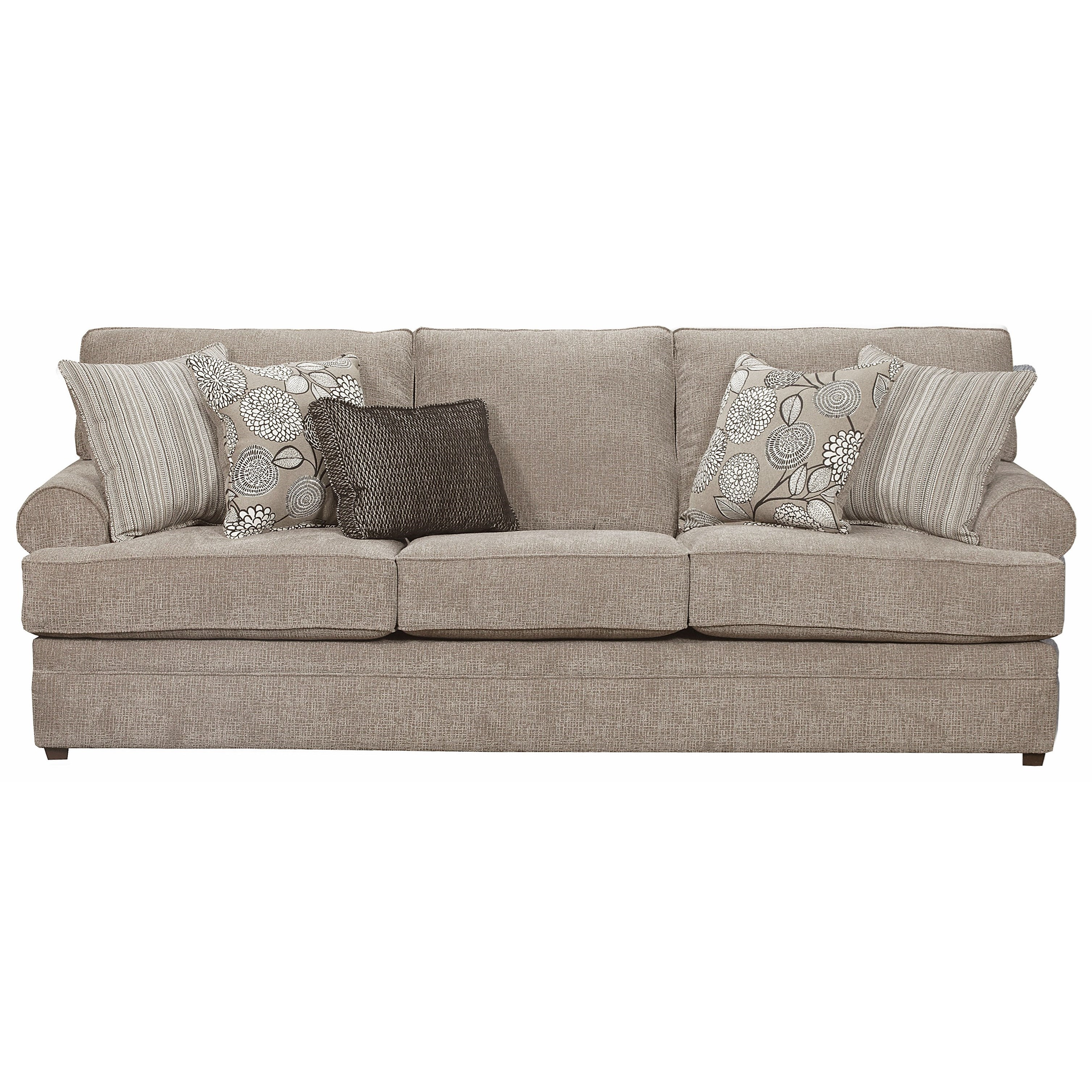 8530 BR Transitional Sofa by United Furniture Industries at Pilgrim Furniture City