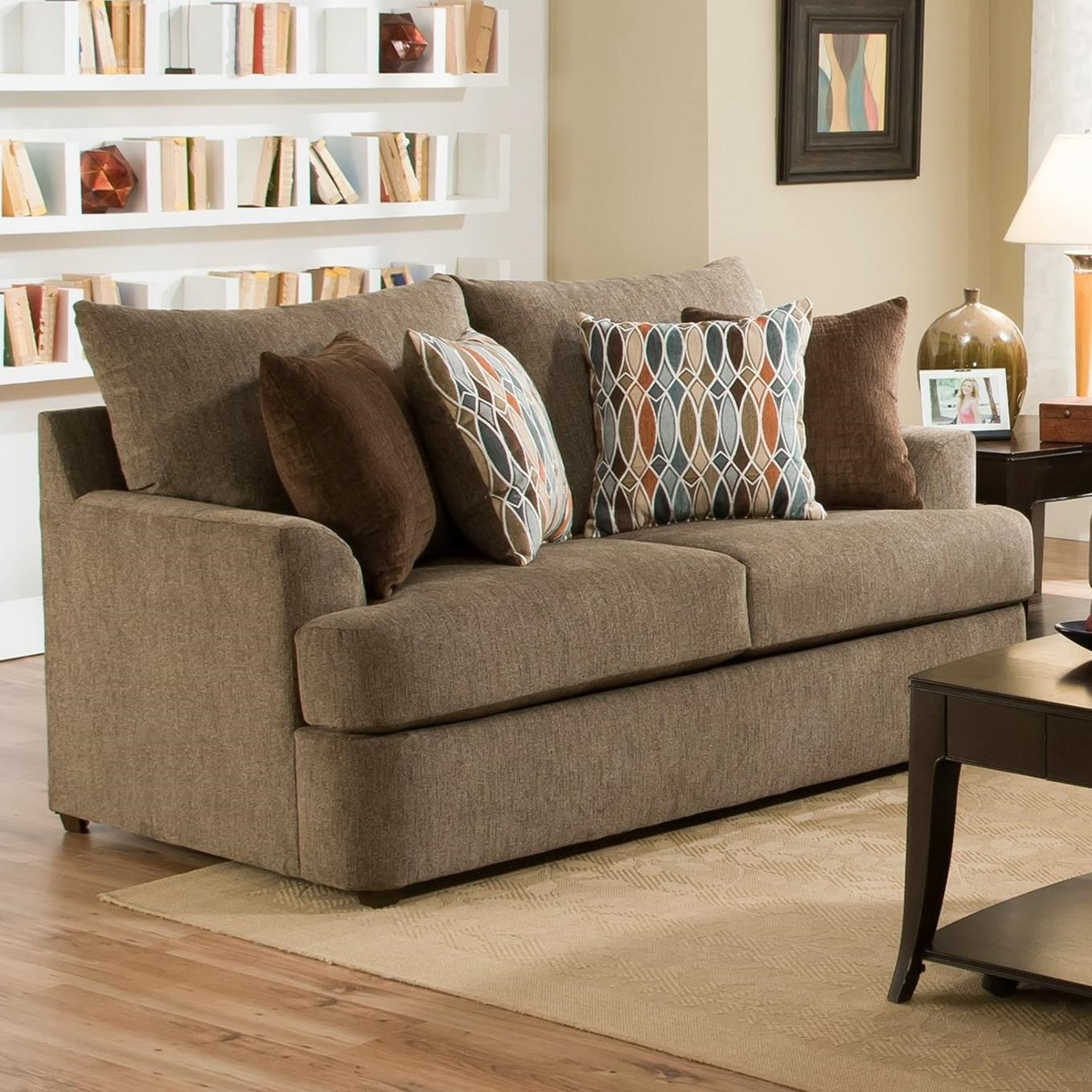 8540BR Casual Loveseat by United Furniture Industries at Dream Home Interiors