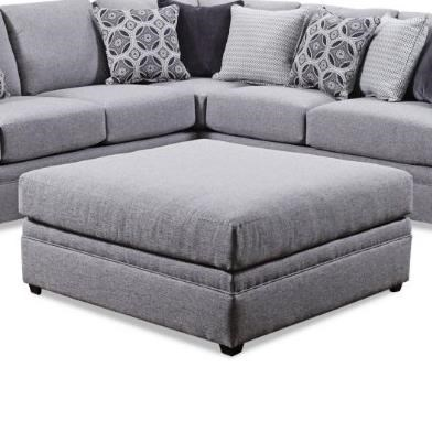 8561BR Square Cocktail Ottoman by United Furniture Industries at Dream Home Interiors