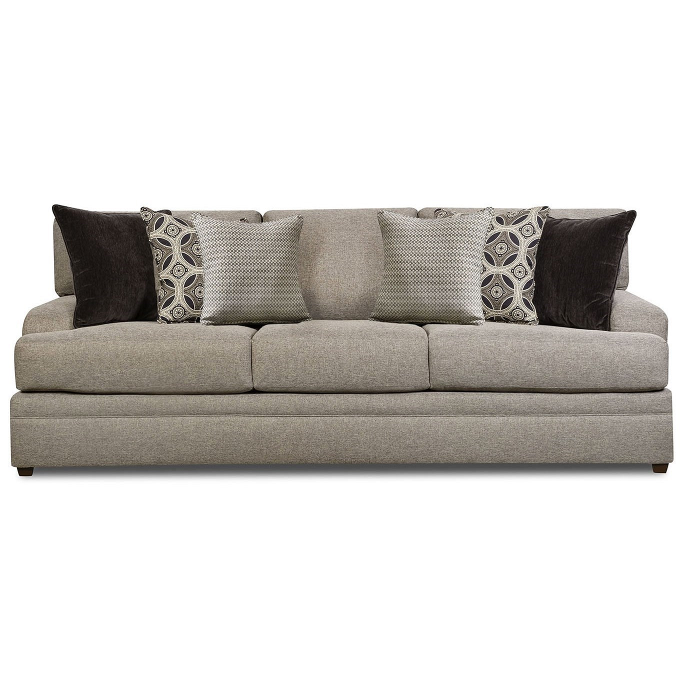 8561BR Casual Sofa by United Furniture Industries at Dream Home Interiors