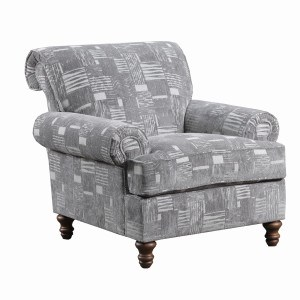 90001 Transitional Chair by United Furniture Industries at Dream Home Interiors