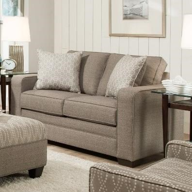 9065 Transitional Loveseat by United Furniture Industries at Dream Home Interiors