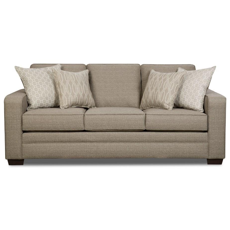 9065 Transitional Sofa by United Furniture Industries at Bullard Furniture