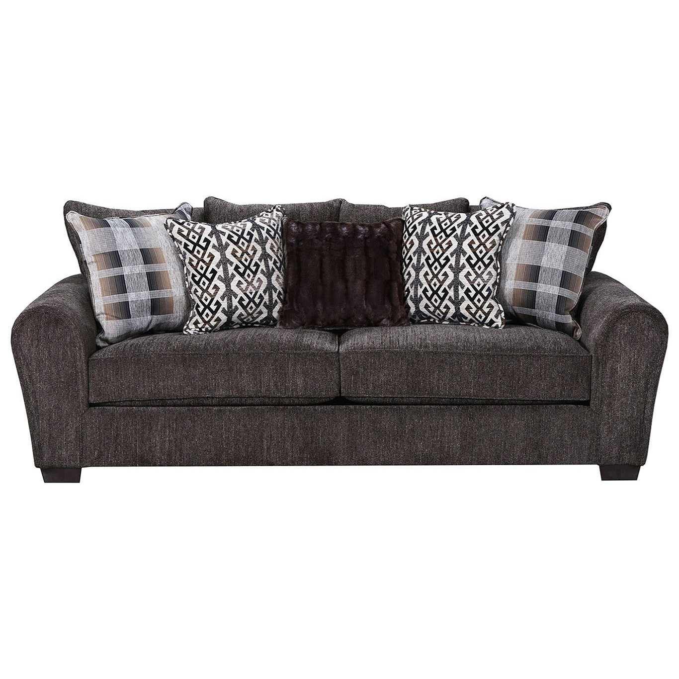 9182BR Sofa by United Furniture Industries at Dream Home Interiors