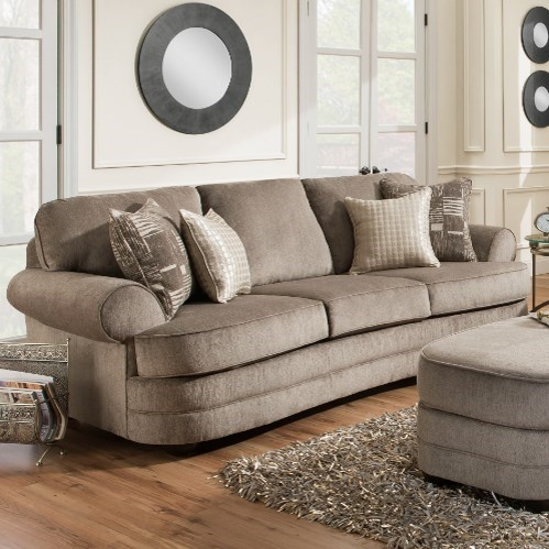 9255BR Transitional Sofa by United Furniture Industries at Bullard Furniture