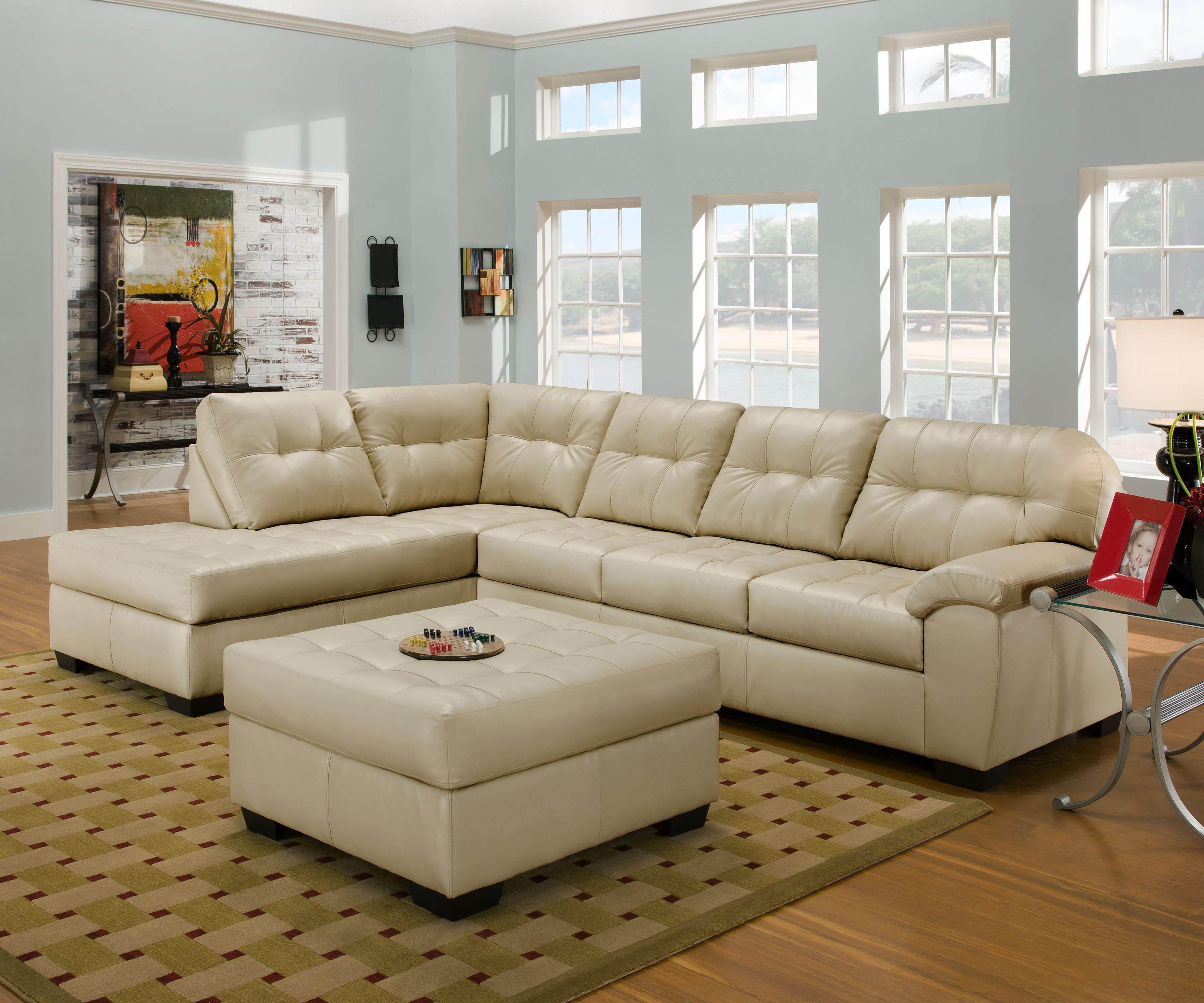 9568 Sectional Sofa by United Furniture Industries at Dream Home Interiors