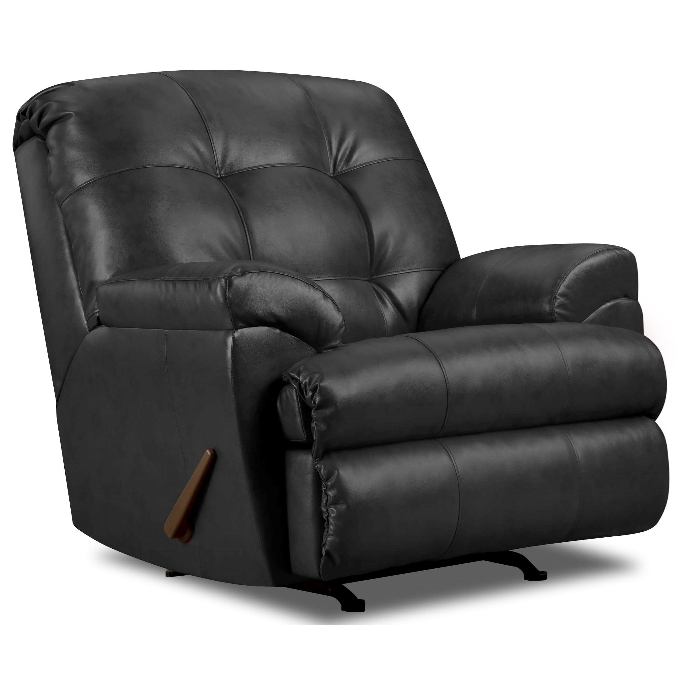 9568 Rocker Recliner by United Furniture Industries at Dream Home Interiors