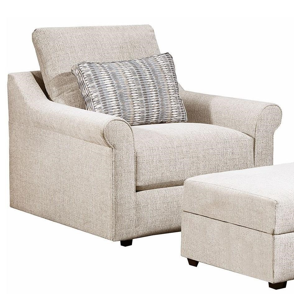 9910 Chair by United Furniture Industries at Dream Home Interiors