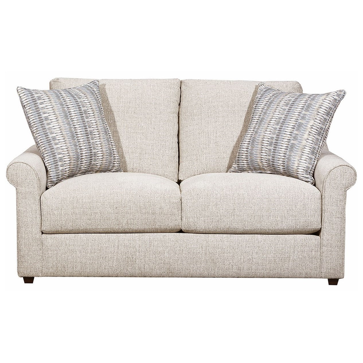 9910 Loveseat by United Furniture Industries at Dream Home Interiors