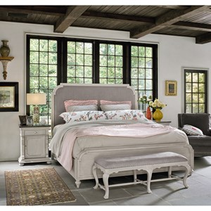 Transitional King Bedroom Group