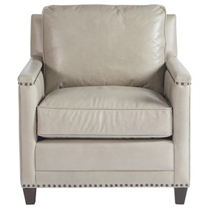 Accent Chair with Nailhead Trim