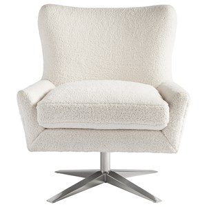 Everette Accent Chair with X-Swivel Base