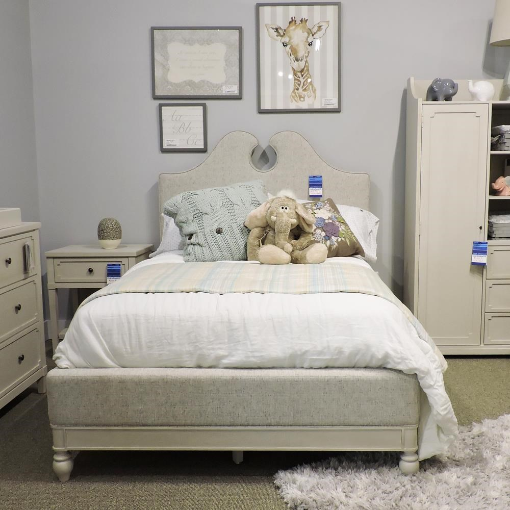 Clearance Full Upholstered Bed by Universal at Belfort Furniture