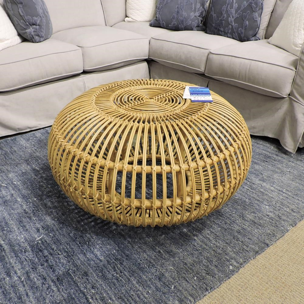 Clearance Rattan Scatter Table by Universal at Belfort Furniture