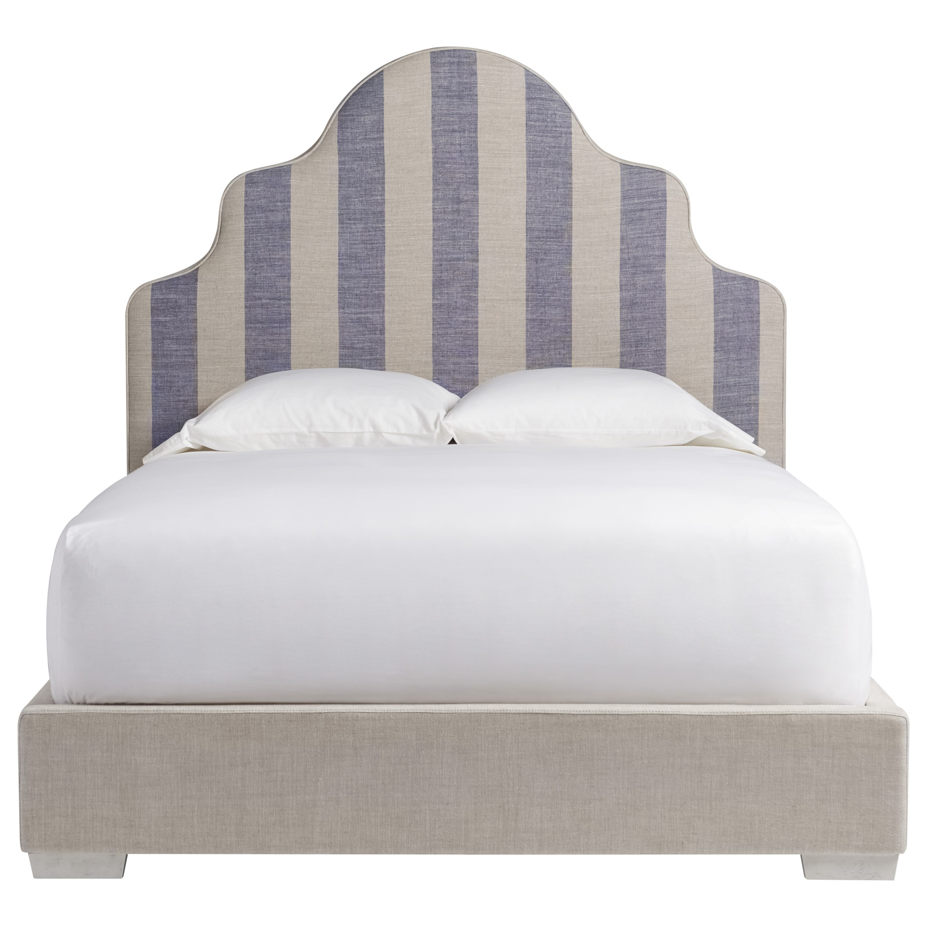 Coastal Living Home - Escape King Sagamore Hill Panel Bed by Universal at Baer's Furniture